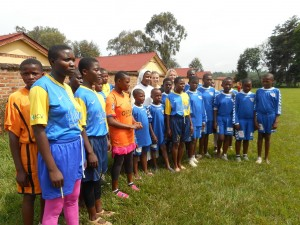 équipe des filles Murhesa
